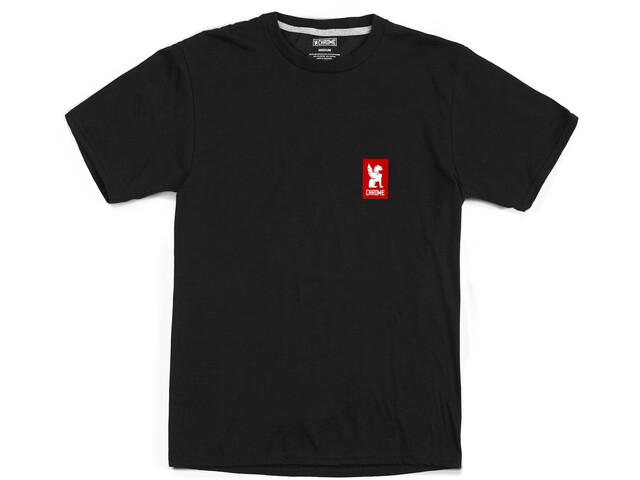 Chrome Vertical Red Logo Tee black/red